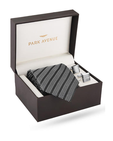 Park Avenue Grey Polyester Blend Giftsets