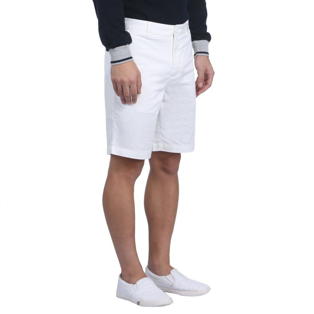 Raymond White Contemporary Fit Shorts