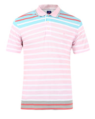 Raymond Pink Contemporary Fit T-Shirt