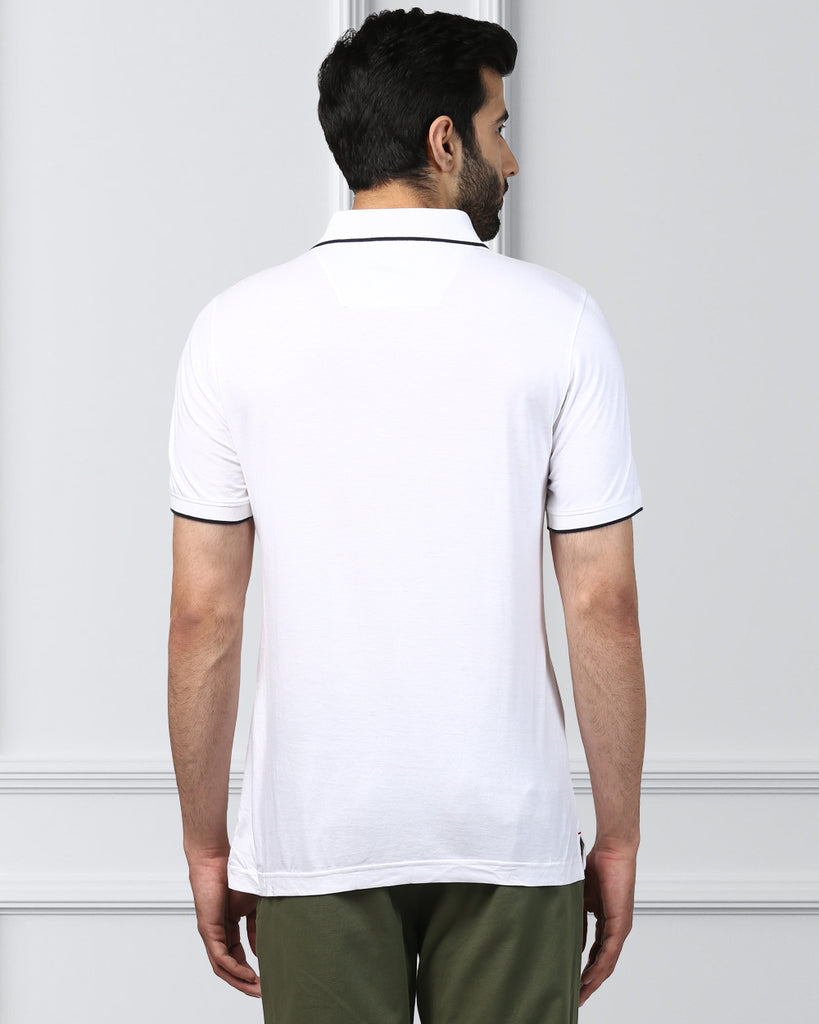 Raymond White Contemporary Fit T-Shirt