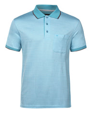 Raymond Medium Blue Contemporary Fit T-Shirt