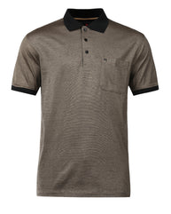 Raymond Dark Khaki Contemporary Fit T-Shirt