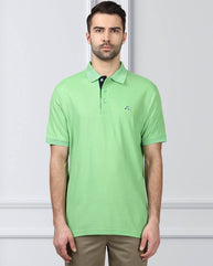 Raymond Supima Green Contemporary Fit T-Shirt
