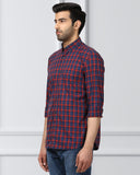 Raymond Indigo Contemporary Fit Shirt