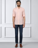 Raymond Orange Contemporary Fit Shirt