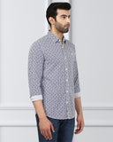 Raymond Blue Slim Fit Shirt