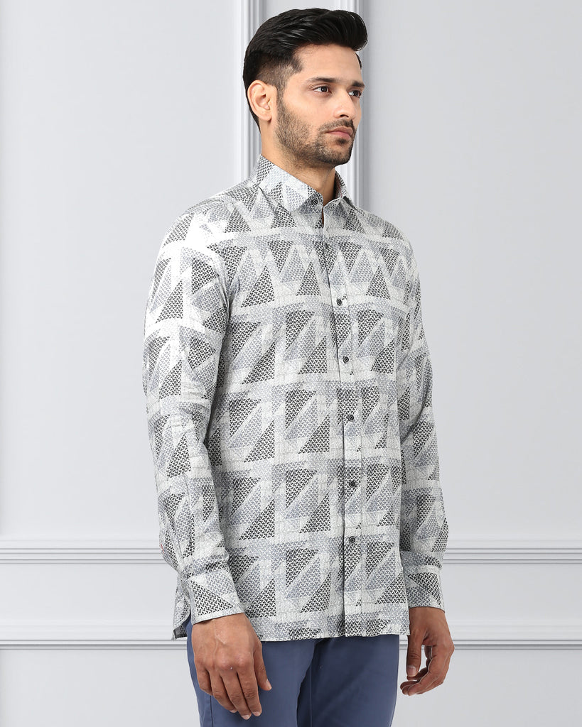 Khadi by Raymond Green Contemporary Fit Shirt