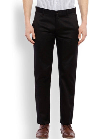 Raymond  Black Contemporary Fit Trouser