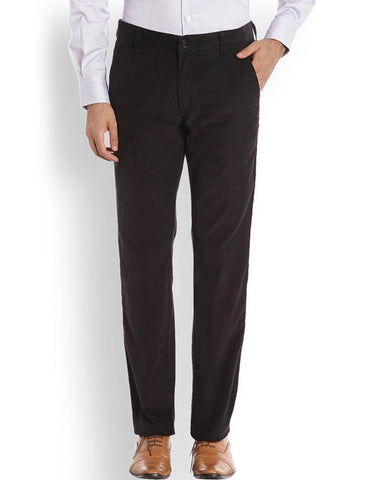 Raymond  Black Casual Fit Trouser