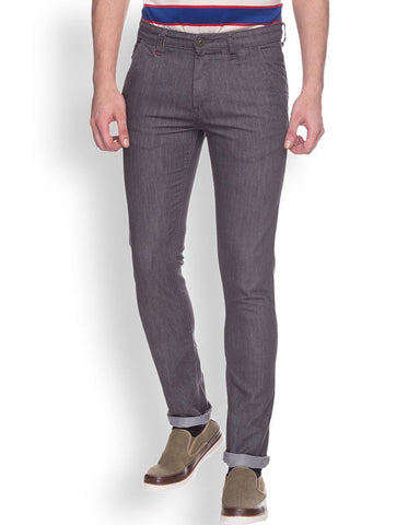 Raymond  Grey Slim Fit Jeans