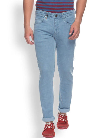 Raymond  Blue Contemporary Fit Jeans