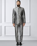 Raymond Medium Grey Contemporary Fit Suit