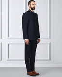 Raymond Dark Blue Contemporary Fit Suit