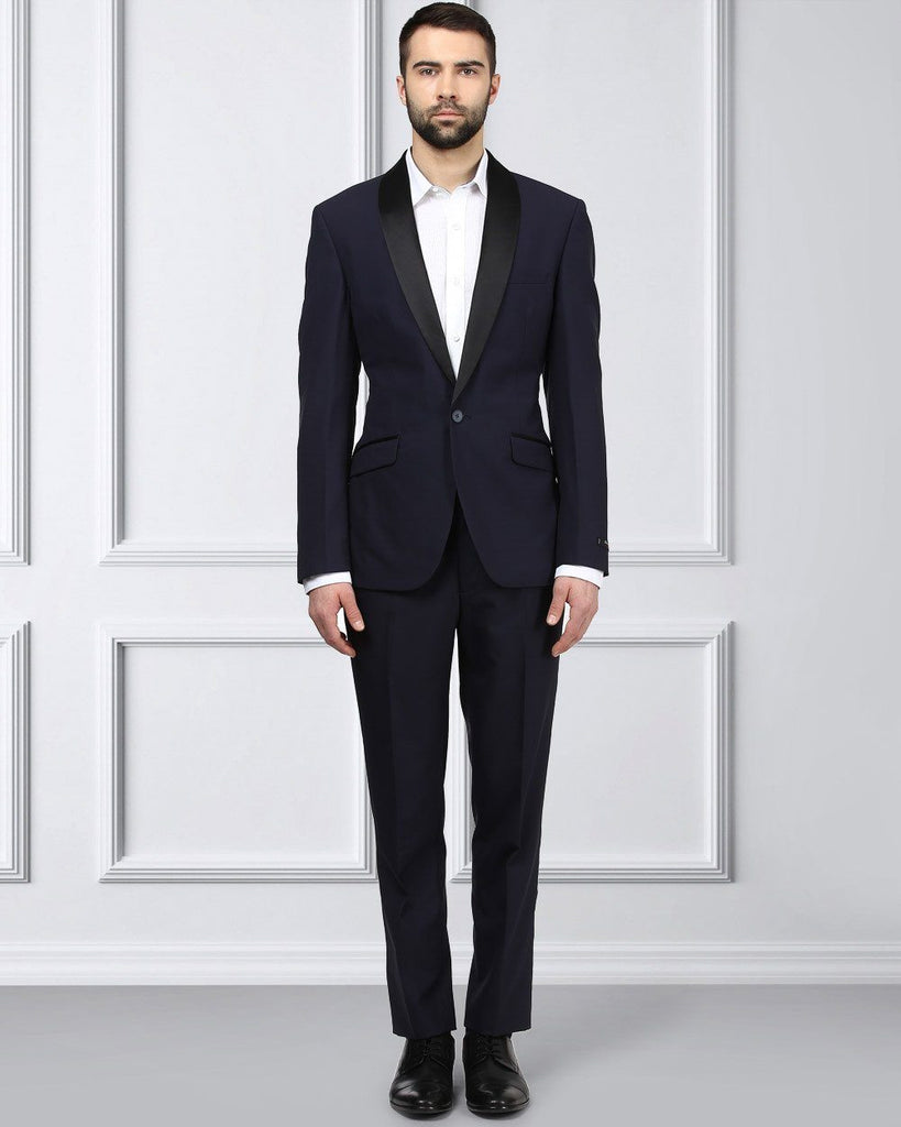 Raymond Blue Slim Fit Suit