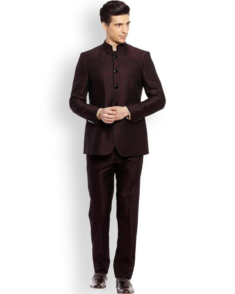 Raymond  Maroon Contemporary Fit Suit