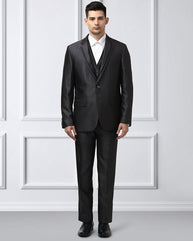 Raymond Dark Grey Contemporary Fit Suit