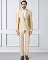 Raymond Medium Fawn Contemporary Fit Suit
