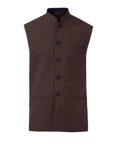 Raymond Dark Brown Contemporary Fit Jacket