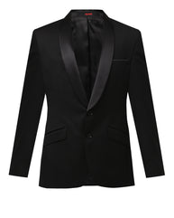 Raymond Black Contemporary Fit Blazer
