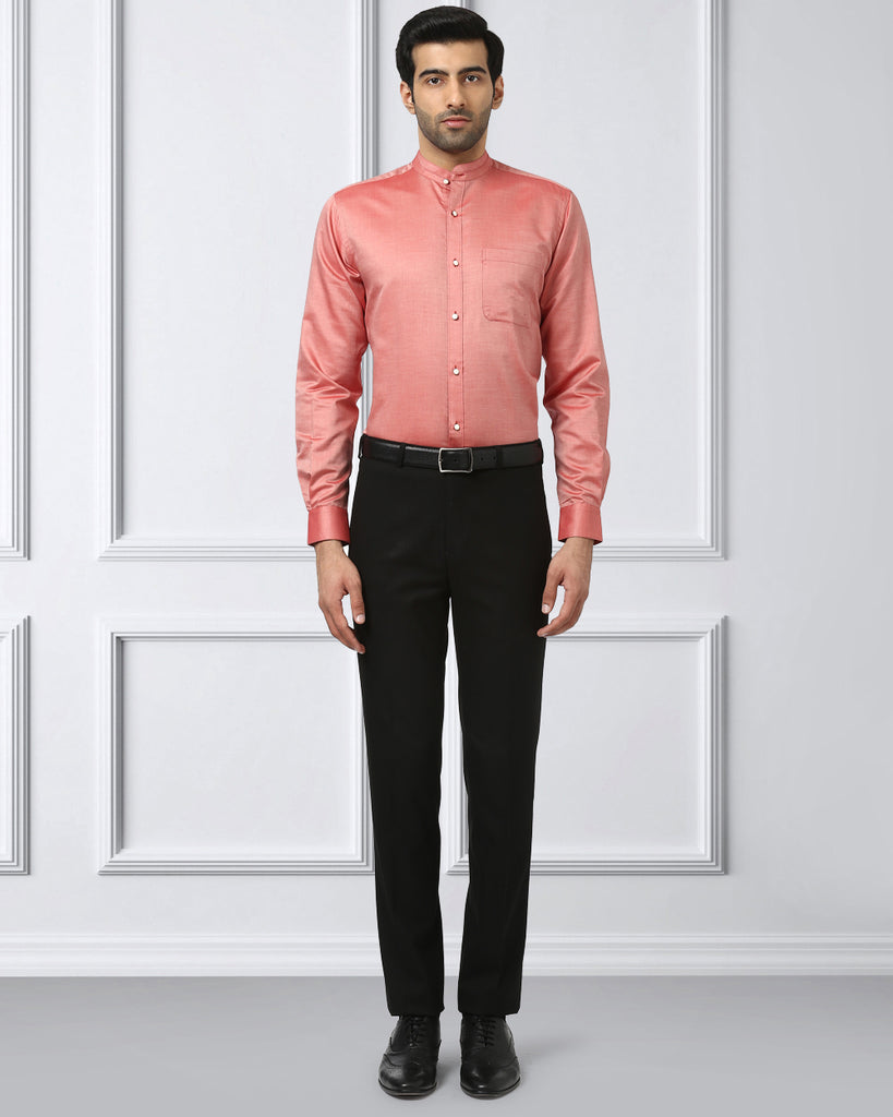 Raymond Pink Contemporary Fit Shirt