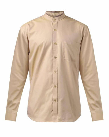 Raymond Dark Fawn Contemporary Fit Shirt