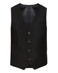 raymond Black Contemporary Fit Waist Coat