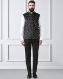 Raymond Dark Grey Regular Fit Waist Coat