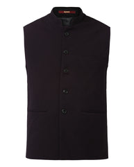 Raymond Black Contemporary Fit Waistcoats