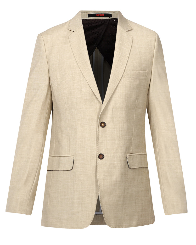 Raymond Beige Contemporary Fit Suit