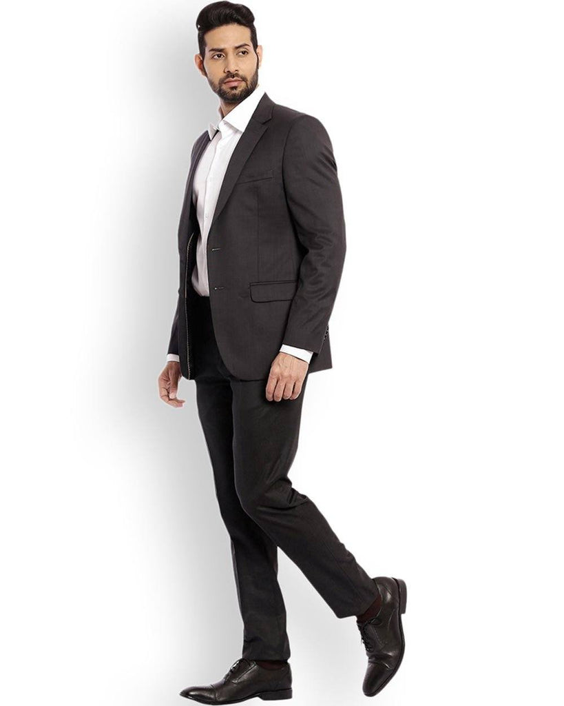 Raymond  Black Slim Fit Suit