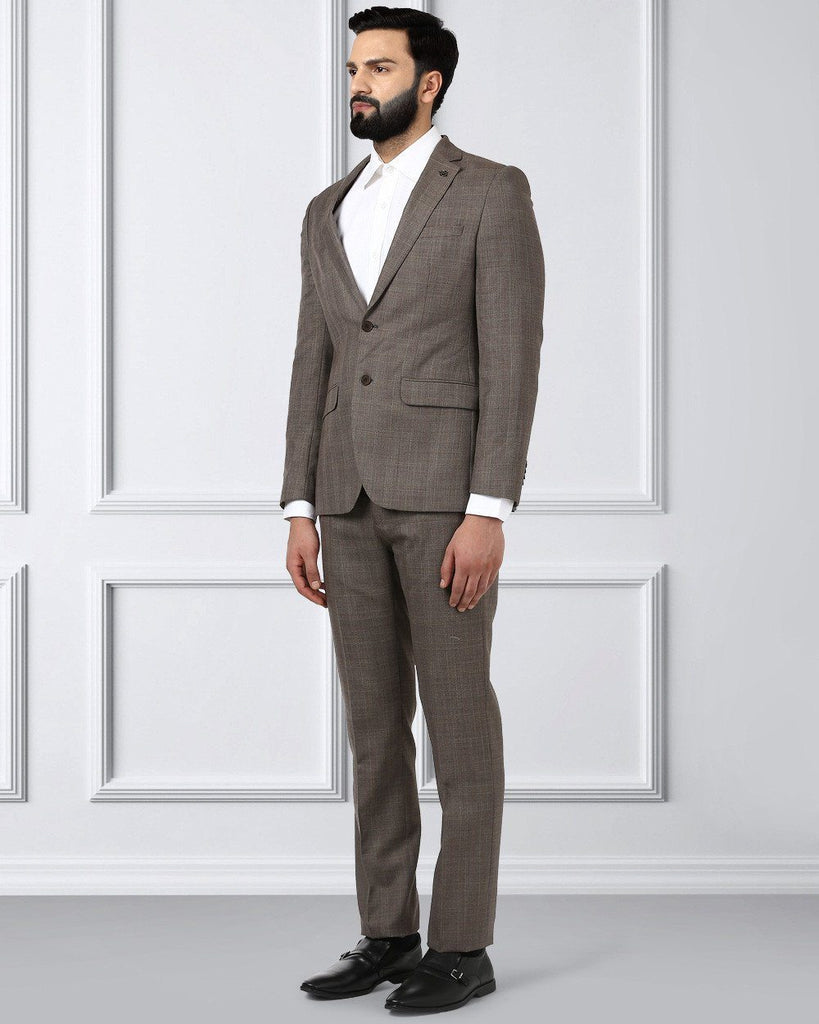 Raymond Brown Slim Fit Suit
