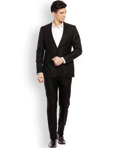 Raymond Black Regular Fit Suit