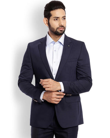 Raymond  Blue Italian Cut Fit Jacket