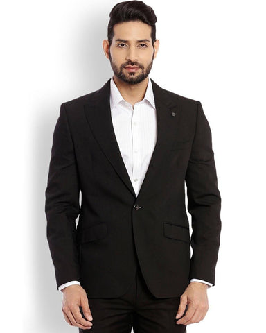 Raymond  Black Italian Cut Fit Jacket