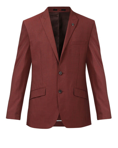 Raymond Red Contemporary Fit Jacket