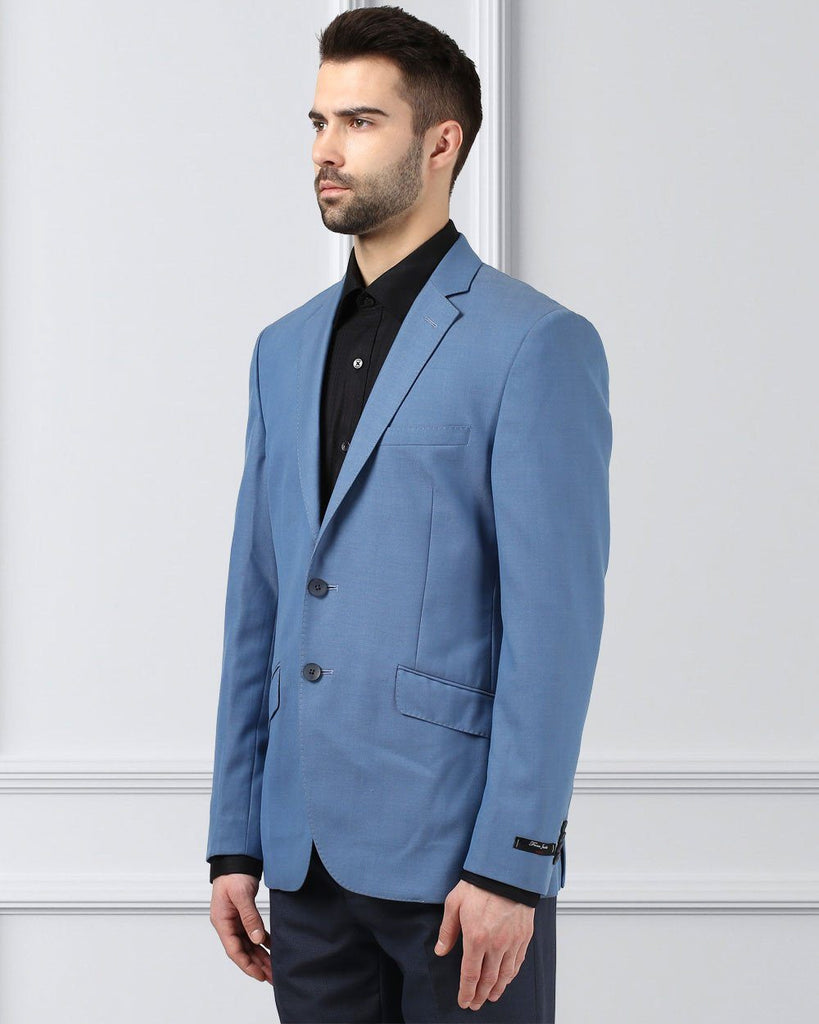 Raymond Blue Slim Fit Jacket