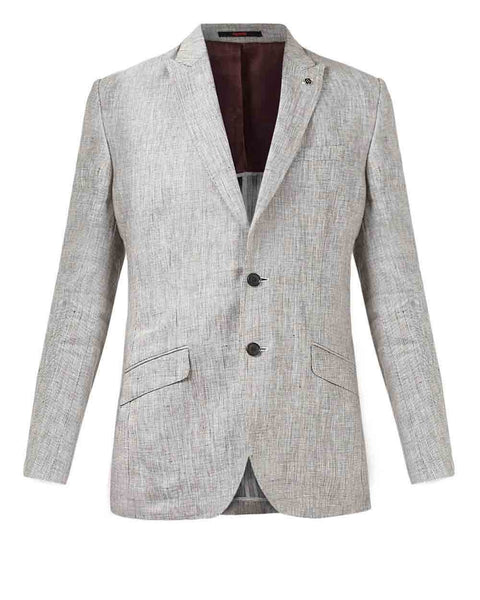 Raymond Brown Slim Fit Jacket