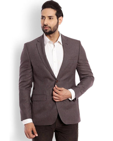 Raymond  Grey Slim Fit Jacket