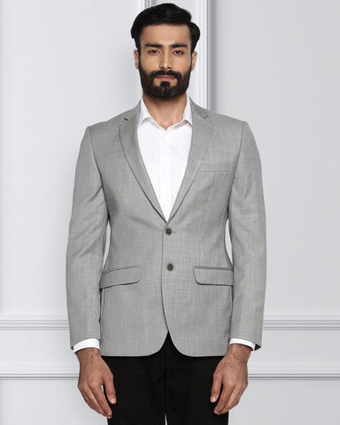 Raymond Medium Grey Slim Fit Jacket