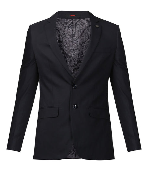 Raymond Black Slim Fit Jacket