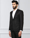 Raymond Black Slim Fit Blazer
