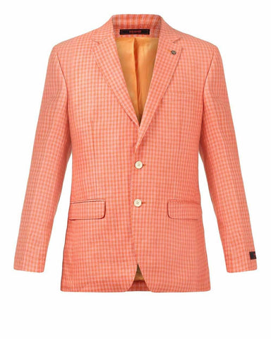 Raymond Orange Tailored Fit Jacket