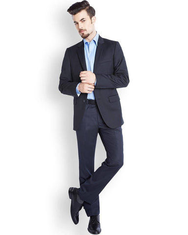 Raymond  Blue Tailored Fit Jacket