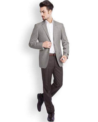Raymond  Beige Tailored Fit Jacket