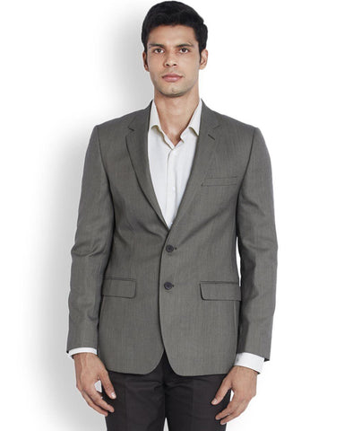 Raymond  Brown Tailored Fit Jacket