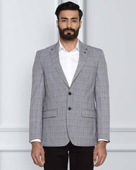Raymond Medium Grey Tailored Fit Jacket