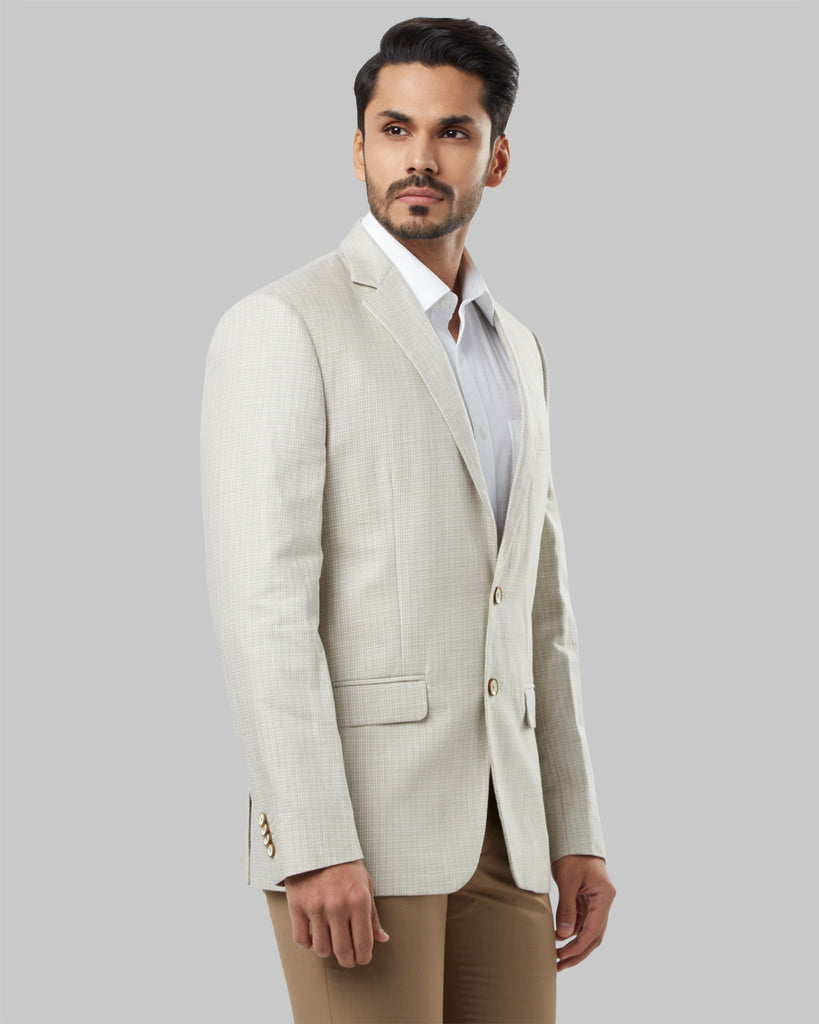 Raymond Brown Regular Fit Blazer