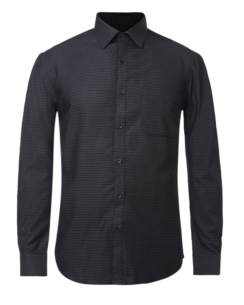 Raymond Dark grey Contemporary Fit Shirt