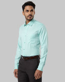 Raymond Orange Regular Fit Shirt