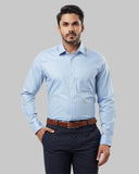 Raymond Grey Regular Fit Shirt